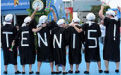 全豪オープンテニス観戦(イメージ)
