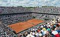 全仏オープンテニス観戦(イメージ)